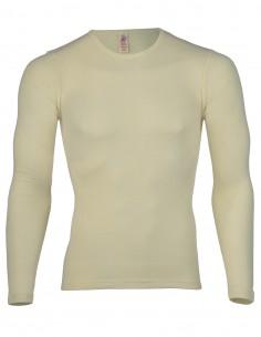 Heren Shirt Lange Mouw Wit...